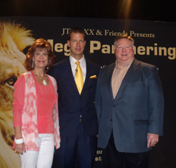 Dr. James Franklin with Lynn Franklin and JT Fox